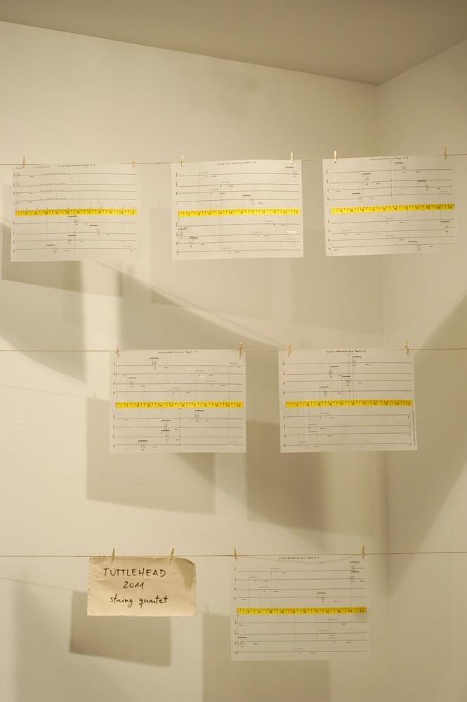 2012'IV'19-25. III MONO+GRAPHIC en el ICNY - Partitura de 'Tuttlehead'