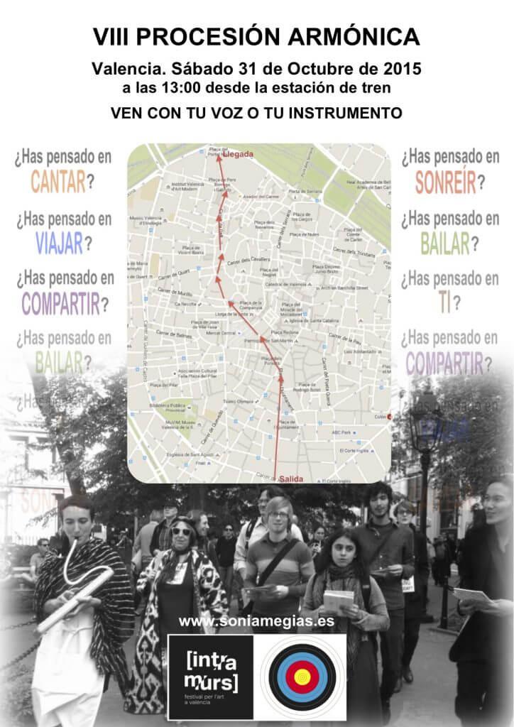 2015'X'31. VIII Procesión armónica - cartel