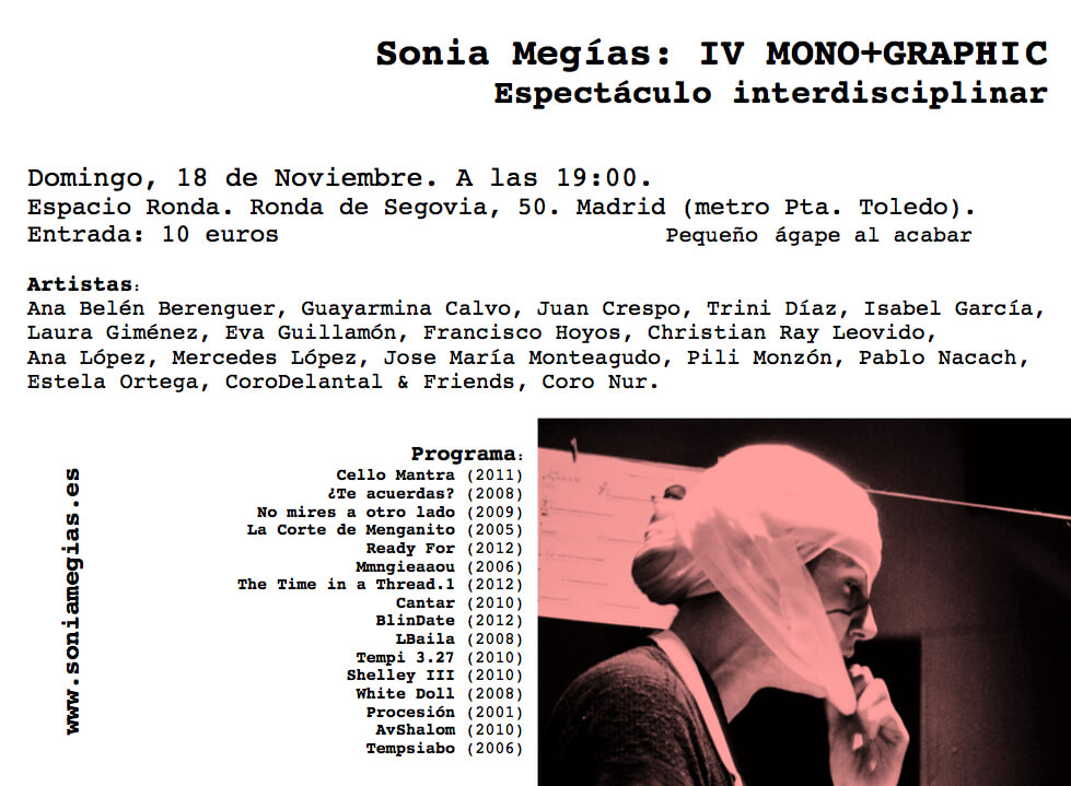 2012'XI'18. IV MONO+GRAPHIC. Invitación