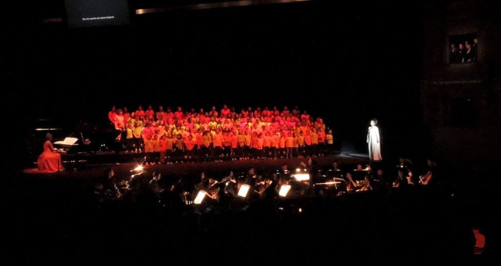 2017'VII'4. Teatro Real de Madrid. Estreno de Somos Naturaleza - coro y orquesta 2 (foto: Ela R que R)