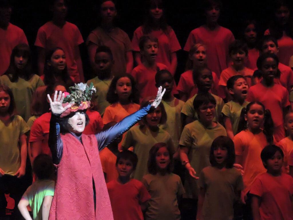 2017'VII'4. Teatro Real de Madrid. Estreno de Somos Naturaleza - Gea 2 (foto: Ela R que R)