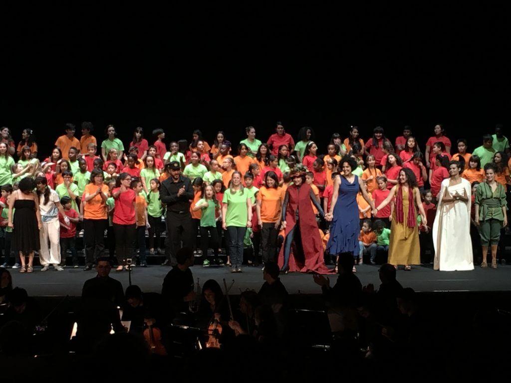 2017'VII'4. Teatro Real de Madrid. Estreno de Somos Naturaleza - saludos 4