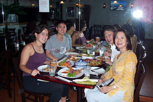 2010'VII. Riverside - con Oliver y su familia