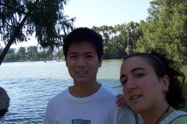 2010'VII. Riverside - con Oliver de paseo