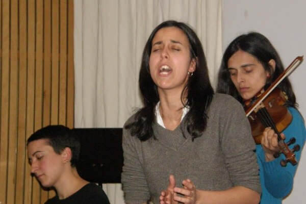 2009'III. Ensayando en el estudio con Atresillá