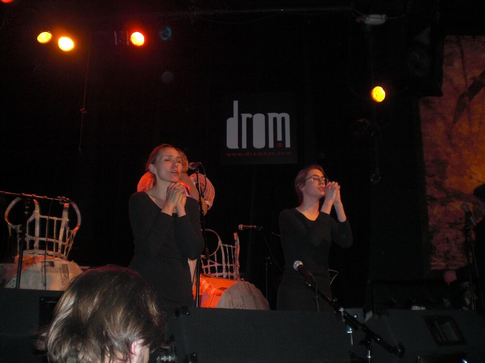 2011-III-27. 'Triangle'. Performance at Drom - 2