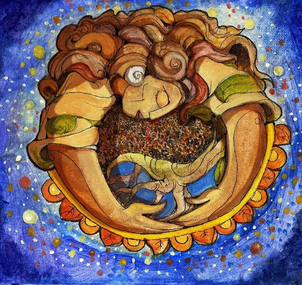 2015'V. Logo de Dúa de Pel, diseñado por el salvadoreño Renato Mira