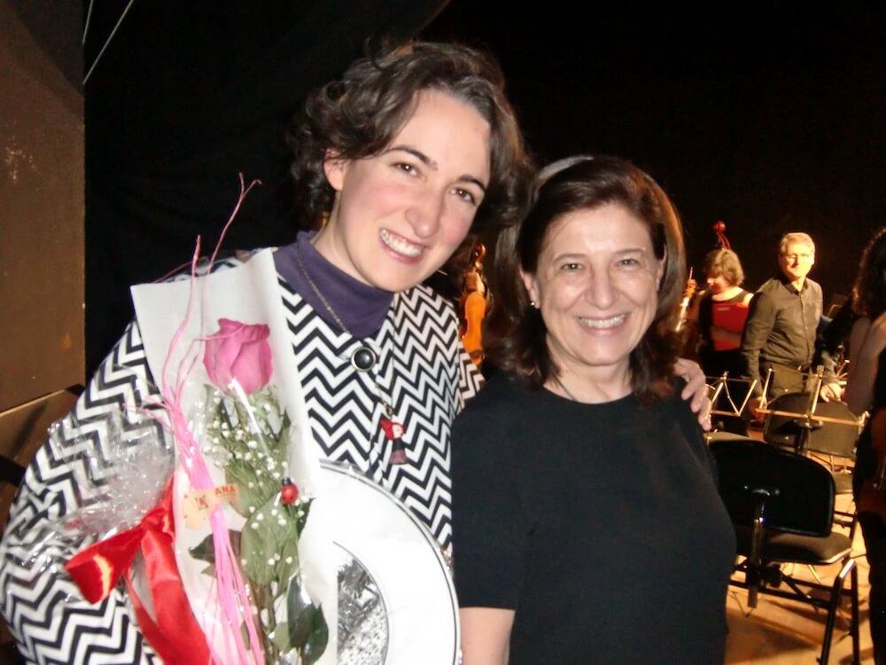 2015'III'14. 'Divertimento' por la orquesta Gaspar Cassadó - con Alicia Coduras, directora