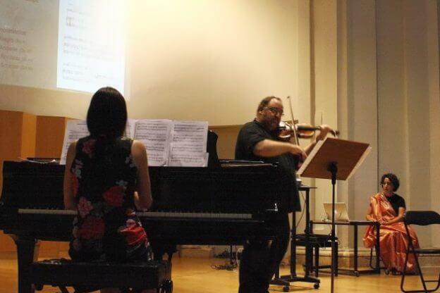 2010'VI'26. Concierto monográfico en Alcalá - María Silvera y Pablo Gastaminza estrenando 'Sonata'