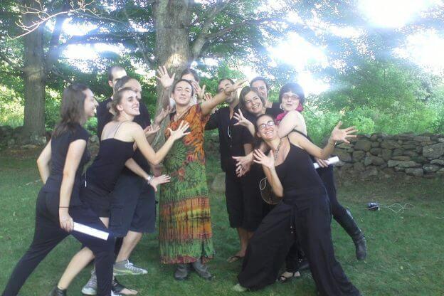 2011'IX. Estreno de '25 Ciudades 50 calles' - con mis performers