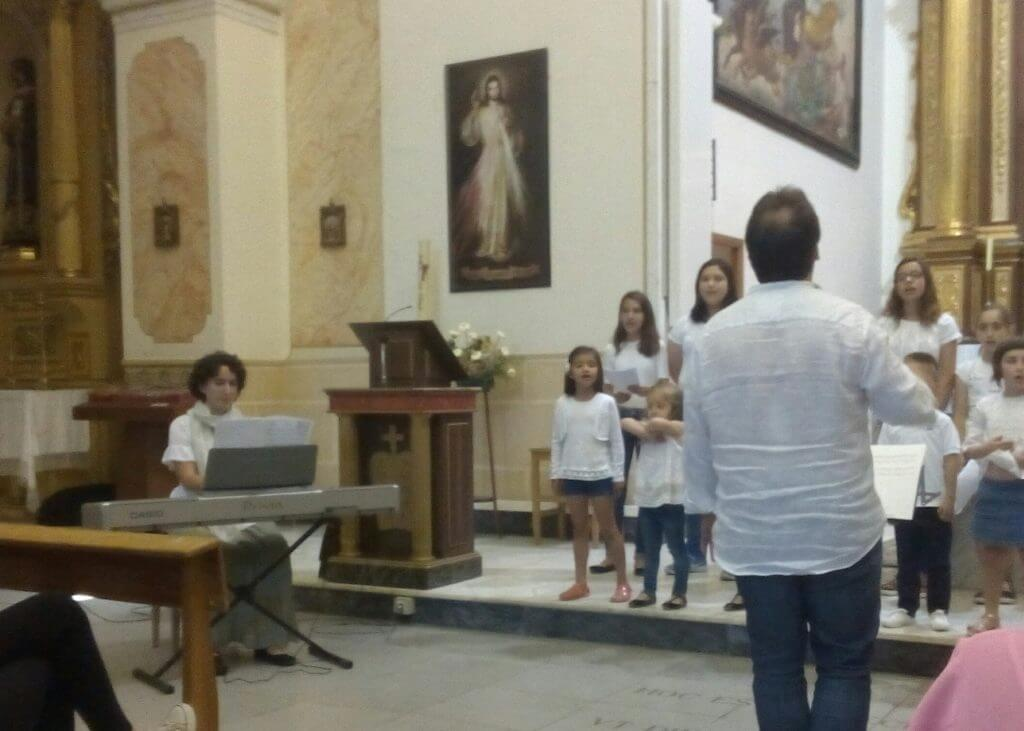 2016'VI. Encuentro de coros infantiles en Almansa