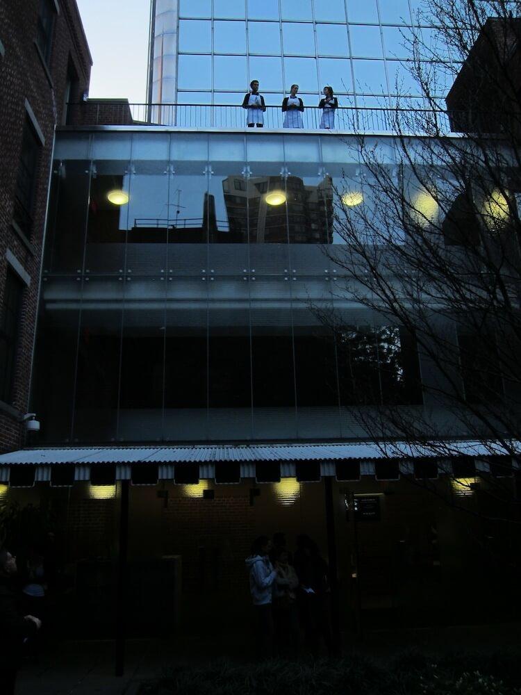 2012'IV'19. III MONO+GRAPHIC en el ICNY - Improvisación inicial - foto 3