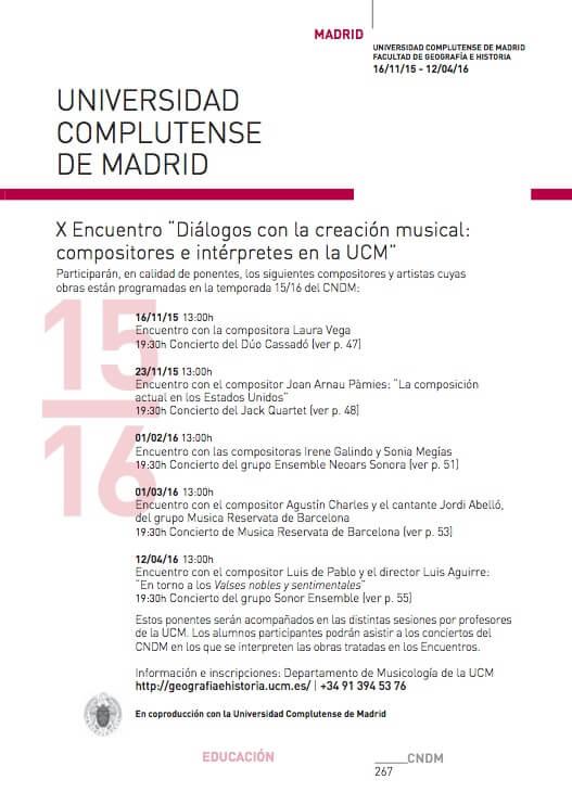 Diálogo con las compositoras