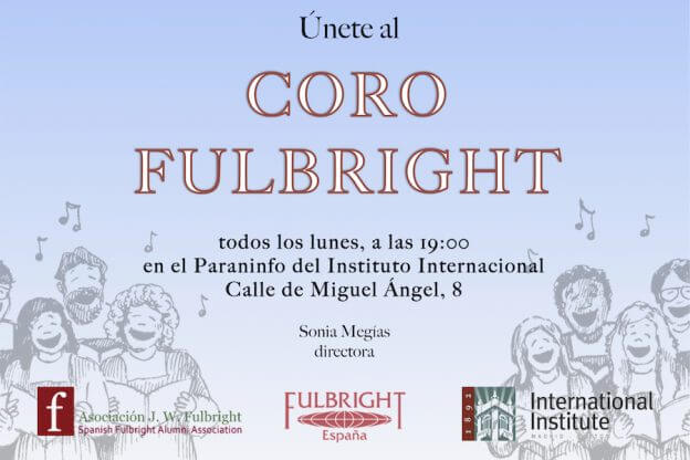2016'X'3. Convocatoria Coro Fulbright, curso 2016-17
