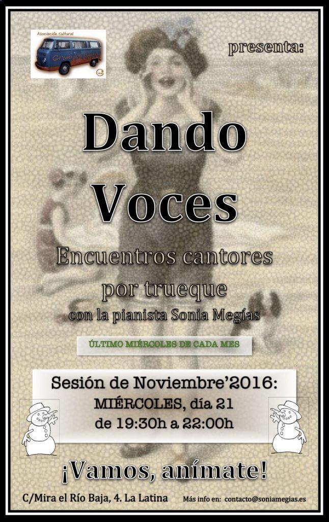 DANDO VOCES - Diciembre'2016