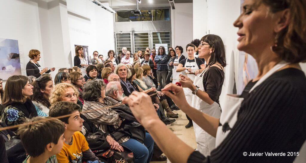 2015'XII'4. Madrid. Bueno por conocer.7 - 'The time in a thread' de Sonia Megías - 2. Foto: Javier Valverde