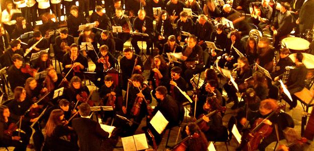 2016'IV'14. Baza. Charla-concierto sobre mi música - orquesta del conservatorio