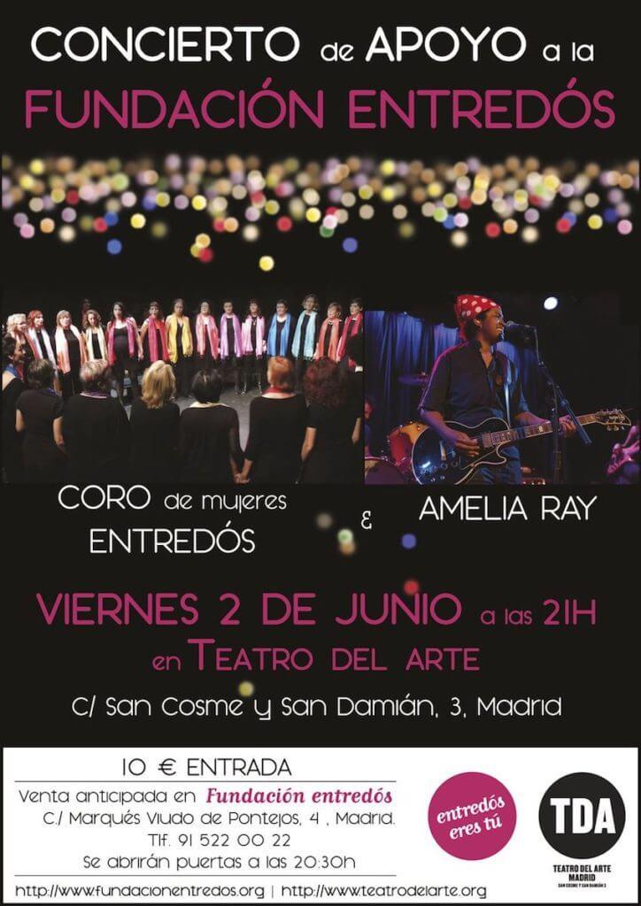 2017'VI'2. Coro Entredós en el Teatro del Arte - cartel