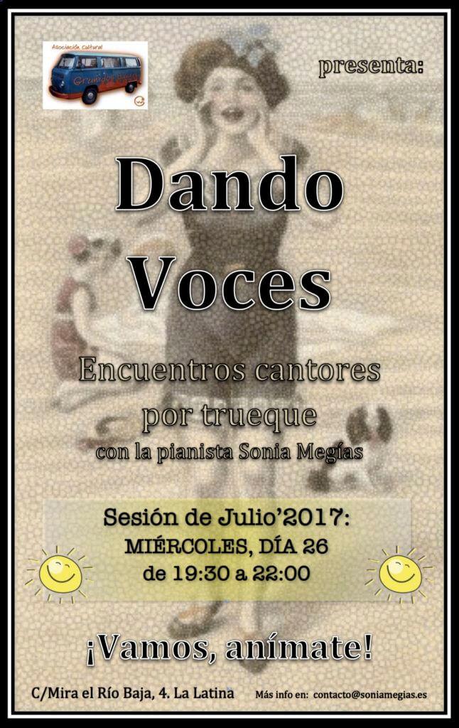 Dando Voces - Julio'2017