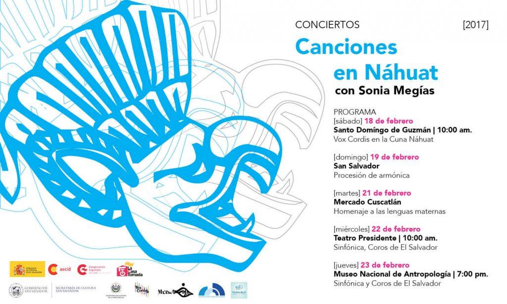 2017. Programa de conciertos en náhuat