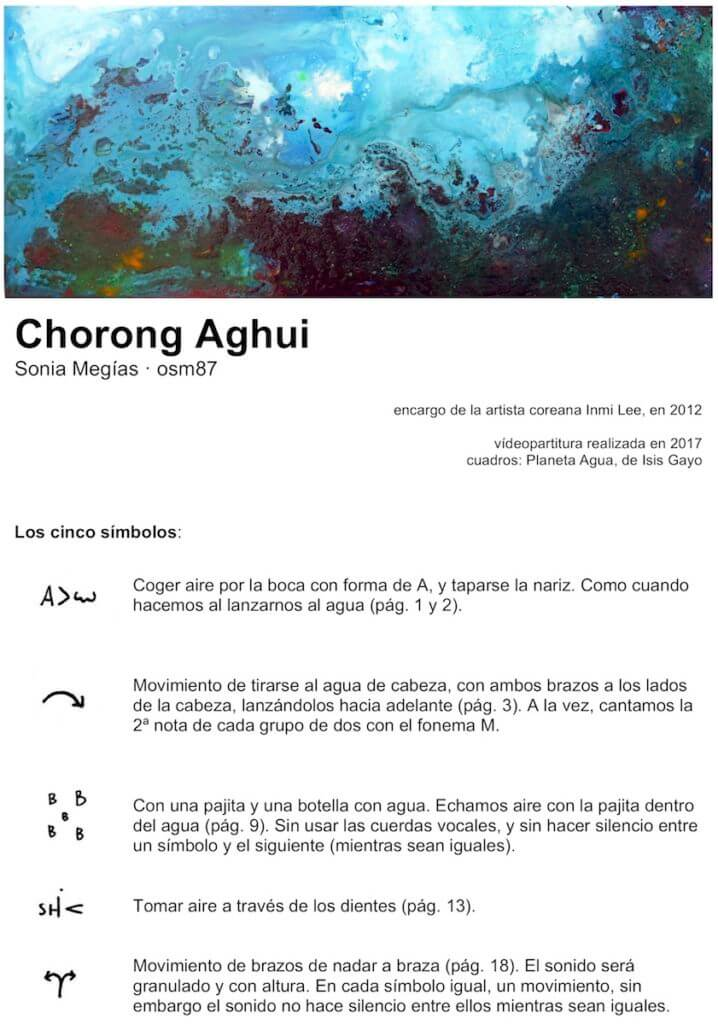 2012'VIII. Chorong Aghui - instrucciones