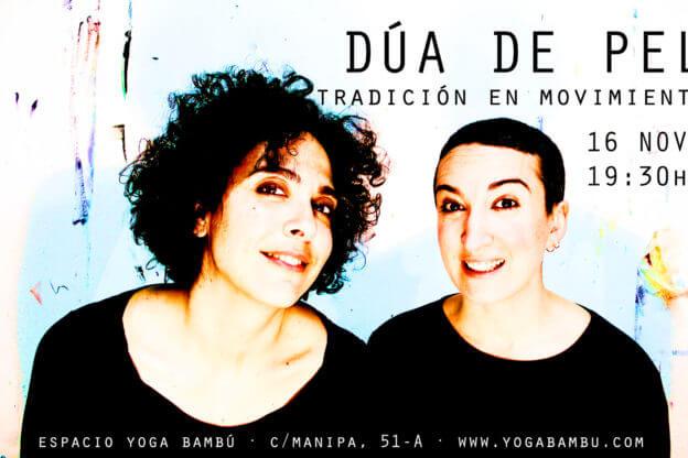2018'XI'16. Dúa de Pel en Yoga Bambú - cartel