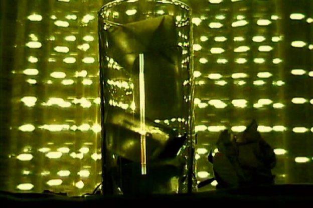 'Mal(in)con(i)ci' osm33v1 at 'La caja mágica' auditorium