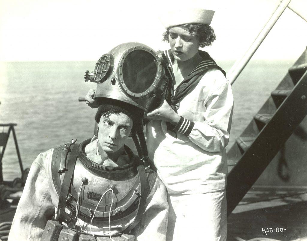 Improvisación al piano sobre 'El navegante' de Buster Keaton