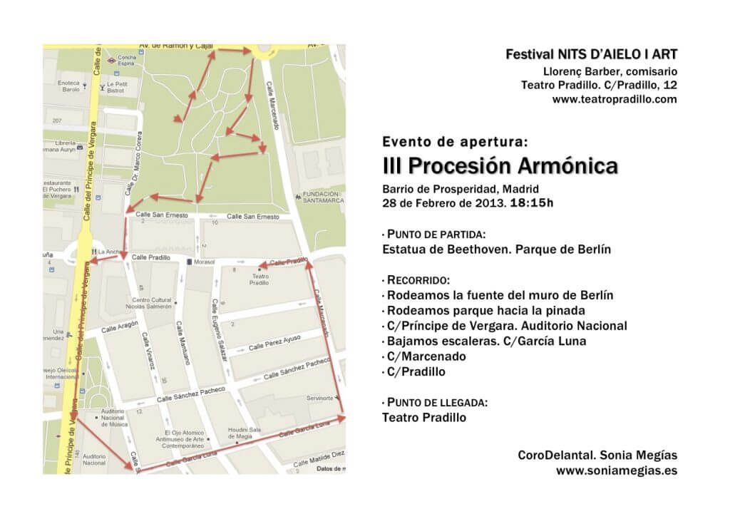 2013'II. Recorrido III Procesión armónica