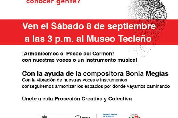 2012'IX'8. San Salvador. II Procesión armónica - cartel