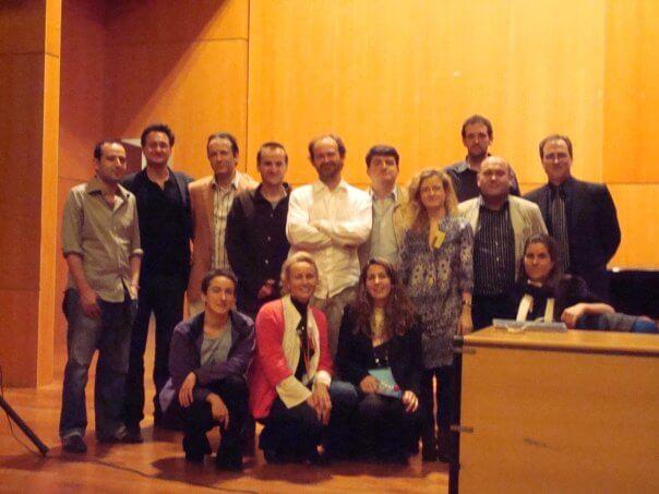 2009'IV.- Ponentes del I Encuentro Nacional de Análisis Musical. Conservatorio Superior de Las Palmas de Gran Canaria