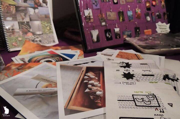 2013'III'01. Postales de Ela en La Boca, con el sobre