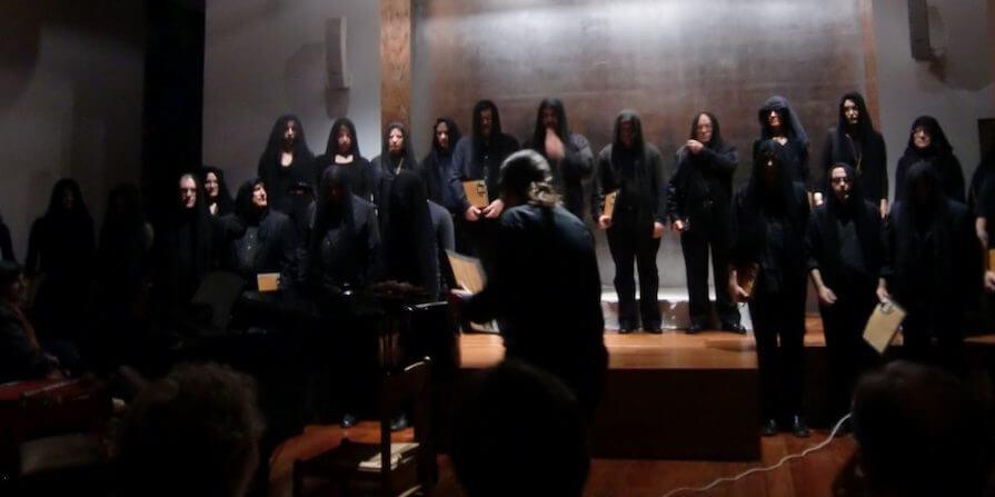 2012'XI'18. IV MONO+GRAPHIC. 'AvShalom' por el Coro Nur, dirigido por José Manuel López Blanco