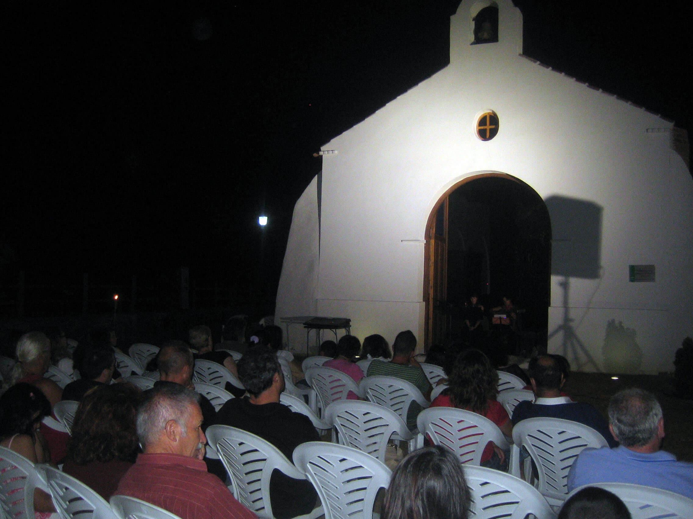 2010'VII'16, Oria. Concierto monográfico de mis canciones 'Darle luz al silencio' - el lugar