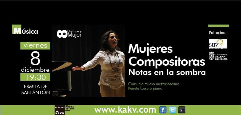 Villena. 2017'XII'8. Mujeres compositoras